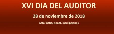 XVI DIA DEL AUDITOR. ACTO INSTITUCIONAL
