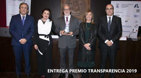 ENTREGA IV EDICIÓN PREMIO TRANSPARENCIA